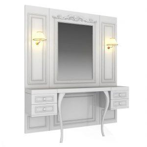 Ogledalo sa radnim mjestom Avangarde Mirror Avancabinet - LuxNatur