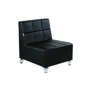 Prijemna ženska fotelja Cube - LuxNatur