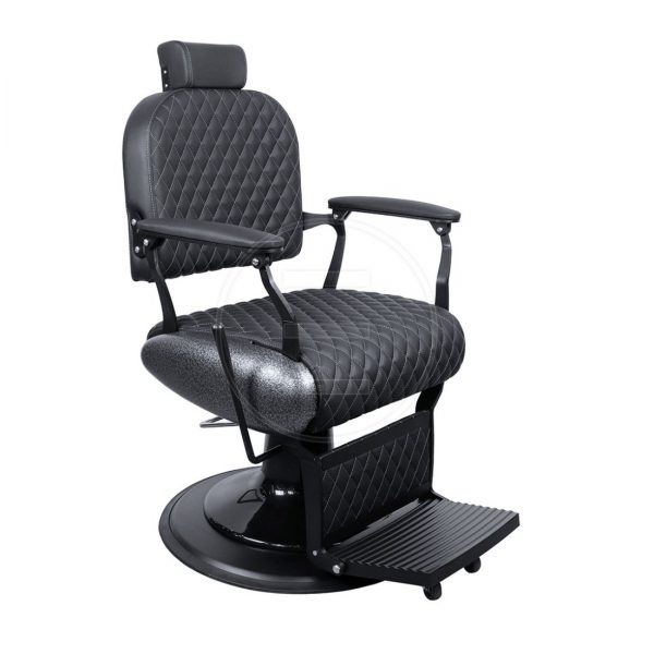 Frizerska stolica Leo Black BA - LuxNatur