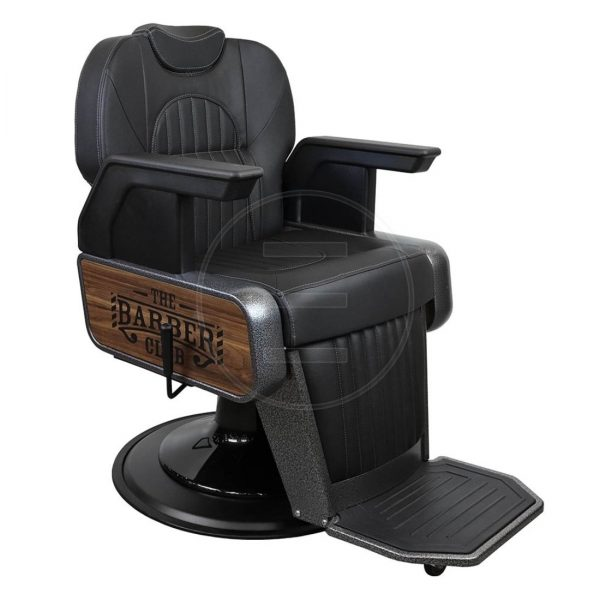 Frizerska stolica New Champion Black BA - LuxNatur