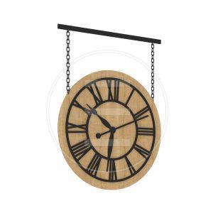 Zidni sat Chain Watch - LuxNatur