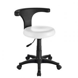 Kozmetička radna stolica s naslonom ERGO - LuxNatur